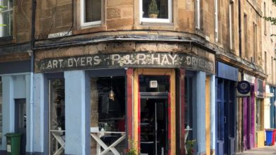 Photo of Edinburgh's ghost signs, a cause for preservation