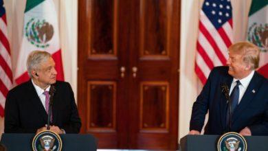 Photo of López Obrador praises Trump, pair silent on immigration
