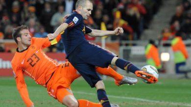 Photo of Iniesta on the 'sheer ecstasy' of scoring World Cup winning goal
