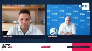 "Photo of FIFA's Infantino: ""Players are the heart of the game"""