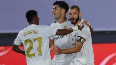 Photo of Real Madrid move closer to title with 8th straight win