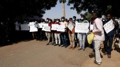 Photo of Dozens of Sudanese ex Black Shield personnel protest for compensation