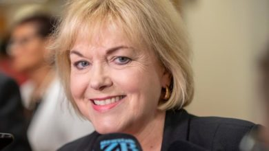 Photo of Judith 'Crusher' Collins elected NZ opposition leader to challenge Ardern