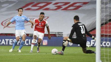 Photo of Arsenal stun Man City 2-0 in FA Cup semifinal