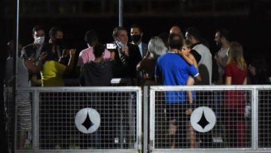 Photo of Bolsonaro emerges from Covid quarantine as Brazil nears 2.5 mn cases