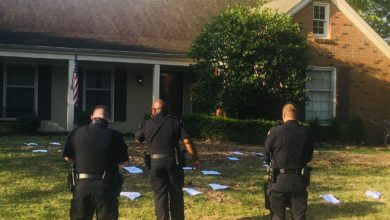 Photo of Vandals Target Homes of Sheriff Floyd Bonner, Shelby County Commissioners Overnight
