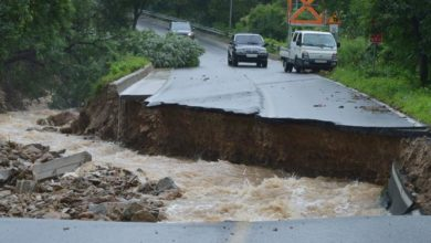 Photo of Landslides, flooding in South Korea leave at least 5 dead, 7 missing