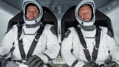 Photo of Nasa SpaceX crew returns to Earth after historic mission