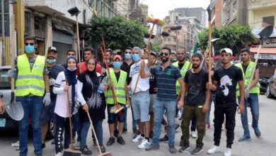 Photo of Volunteers come to Beirut's aid amid absent government