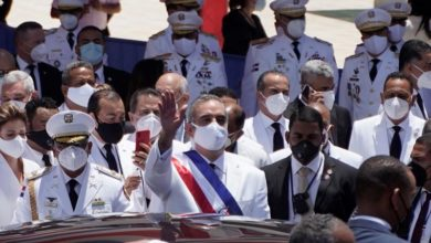 Photo of Abinader sworn in as Dominican Republic president amid COVID-19 crisis