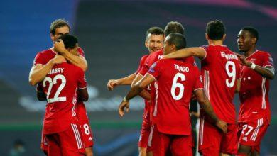 Photo of Bayern cruise past Lyon, advance to Champions League final
