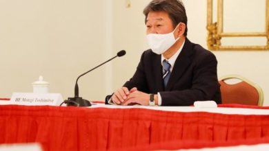 Photo of Japan's foreign minister begins Asian tour to discuss border measures