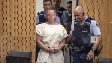 Photo of Christchurch mosque killer set for sentencing