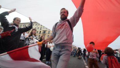 Photo of Anti-Lukashenko protests return to Minsk