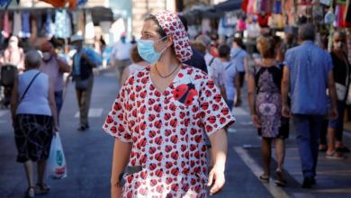 Photo of Spain adds 19,000 Covid cases over weekend, German don masks in pubic