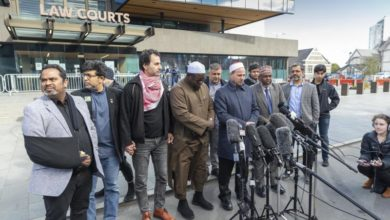 Photo of New Zealand mosque attacker sentenced to life in prison without parole