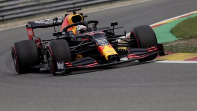 Photo of Verstappen sets the pace in practice for Belgian Grand Prix
