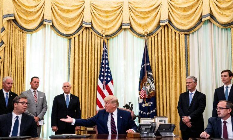 Trump announces economic accord between Serbia, Kosovo - La Prensa Latina  Media