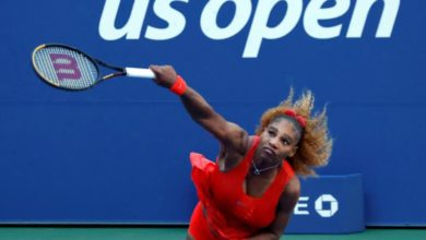 Photo of Serena Williams advances at US Open with win over Stephens
