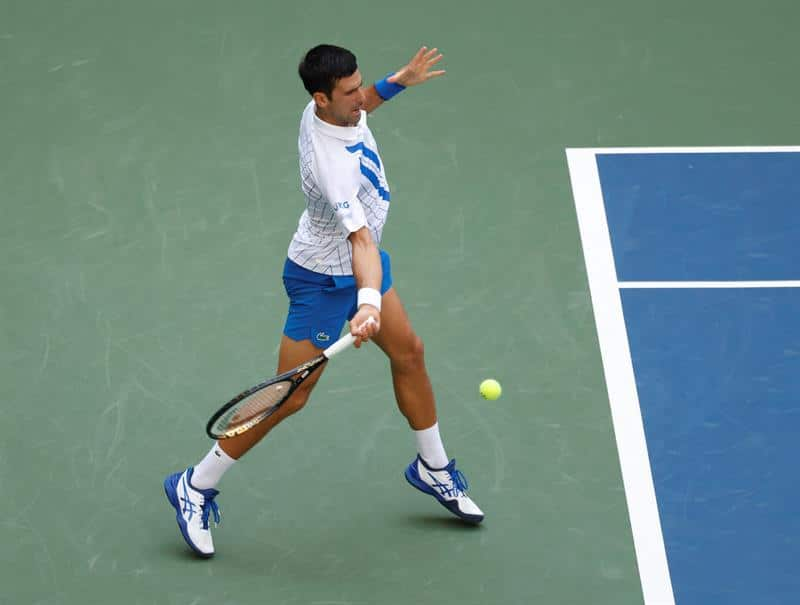 Djokovic Expelled From Us Open After Hitting Ref With Ball La Prensa Latina Media