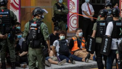 Photo of Hong Kong election postponement protests result in 289 arrests