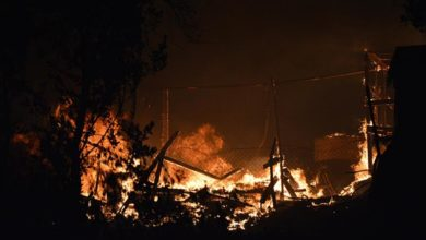Photo of Greece declares state of emergency over Moria migrant camp fire