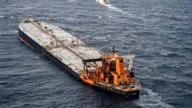 Photo of Sri Lanka detects oil spill from fire-stricken oil tanker off its coast