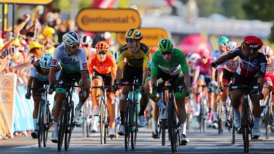 Photo of Ewan wins Stage 11 in sprint finish; Roglic retains Tour yellow jersey