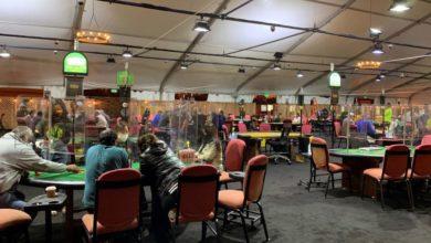 Photo of California casino takes gaming outdoors