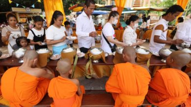 Photo of Pchum Ben celebrations in Cambodia