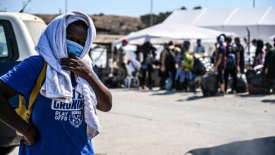 Photo of New Lesbos refugee camp hosts 7,000 with 170 Covid positive