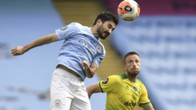 Photo of Manchester City's Gundogan tests positive for Covid-19