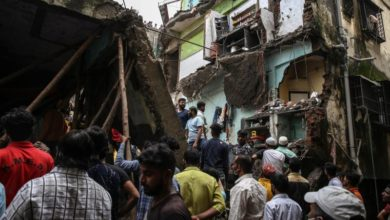 Photo of India building collapse toll rises to 33