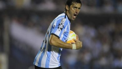 Photo of Diego Milito looking for football talent for Argentina's Racing