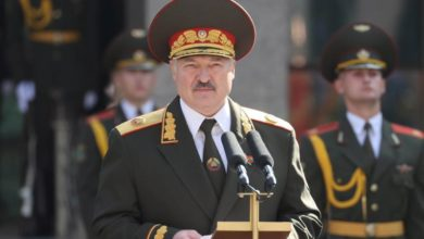 Photo of Lukashenko assumes Belarus presidency in secretive ceremony