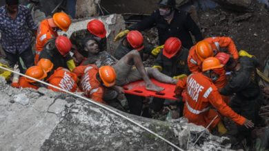 Photo of India building collapse toll rises to 41