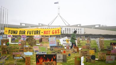 Photo of Australian students join Global Action Day to protest climate change