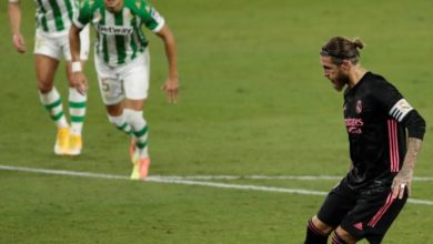 Photo of Ramos penalty helps Real Madrid edge out Real Betis 3-2
