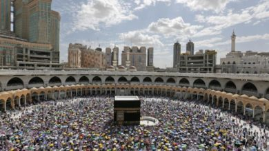 Photo of Muslims' minor pilgrimage to Mecca resumed after 7-month suspension