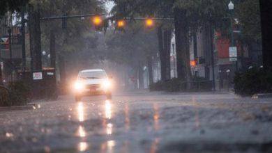 Photo of Hurricane Delta comes ashore in Louisiana