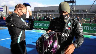 Photo of Bottas grabs pole at Eifel Grand Prix