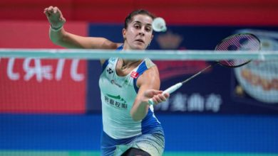 Photo of Spanish badminton star Marin eases into Denmark Open quarterfinals