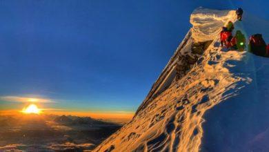 Photo of Bahraini prince scales Nepal mountain peak amid coronavirus closure