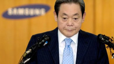 Photo of Samsung chief Lee Kun-hee dies, aged 78