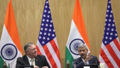Photo of Pompeo, Esper arrive in Delhi to boost India-US ties amid China's rise