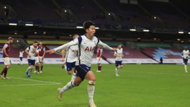 Photo of Tottenham score late in 1-0 win over Burnley