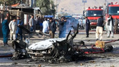 Photo of At least five cops killed in militant attack on Afghanistan police base