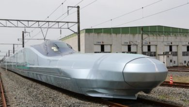 Photo of New Japanese bullet train reaches speed of 382 kph