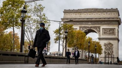 Photo of French greet partial lockdown with an air of resignation