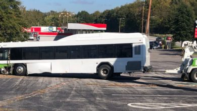 Photo of 5 Injured After MATA Bus Crash in North Memphis